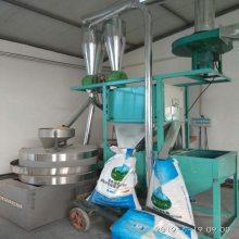 荞麦粉石磨-全自动上料电动面粉石磨-家用商用门店-玉米面石磨机石碾子