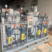 污水圆形自动机器多功能一体式全一体化池处理加药装置药箱搅拌桶