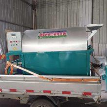 辣椒花生米滚筒炒锅 50斤电加热滚筒炒货机 干果炒货机