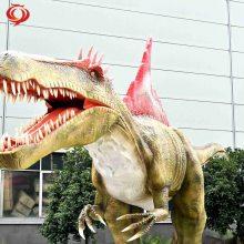 厂家定制侏罗纪大型仿真机械电动恐龙 游乐园景区恐龙模型