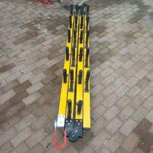 厂家供应绝缘独脚爬梯可折叠9m12m便携式挂山梯硬质梯类汇能