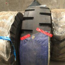 厂家定制50铲车实心轮胎23.5-25加厚耐磨配钢圈 工厂轮胎