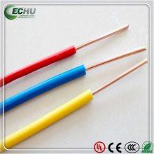 易初厂家供应CE标准H05V-U欧标环保单股单芯线