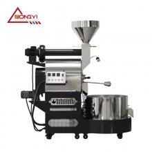 提供多种型号6公斤咖啡烘焙机 6公斤烘焙机烘焙量 咖啡烘焙机进豆温度时间 南阳东亿