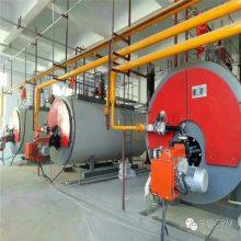菏锅10吨1.6MPA燃气蒸汽锅炉,燃气蒸汽系列工业锅炉,型号WNS-1.6-Q(Y),工厂直供