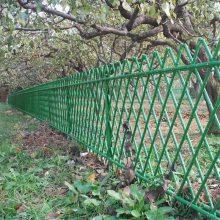 仿竹花草围栏 竹节防护栏杆 园艺仿竹绿化围栏
