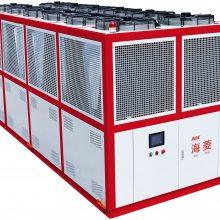 海菱120HP风冷螺杆式冷水机-大型螺杆冷水机