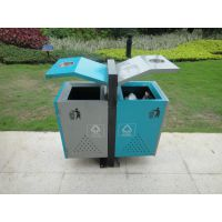 供应广州品兆 古镇 街道 塑料大白桶 分类 垃圾桶