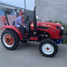 低矮型果園除草旋耕機 單杠小型四輪拖拉機 30馬力四輪拖拉機