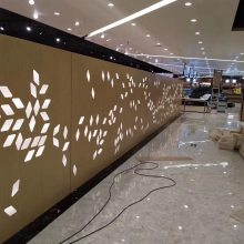 招牌装饰铝单板定制厂家 保安亭金属装饰幕墙铝板