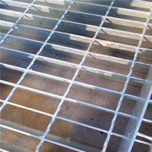 定制各种规格钢格栅板 电力检修平台钢格板价格 优盾扁钢排水沟盖板