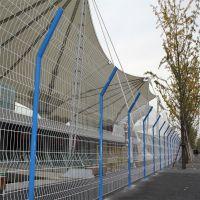 折弯钢丝护栏网柱 桃型柱护栏 便宜花池围栏