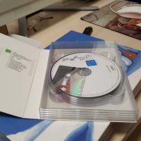 透明dvd cd光盘盒单面光碟收纳盒光碟盒光盘盒塑料壳多片装DVD盒