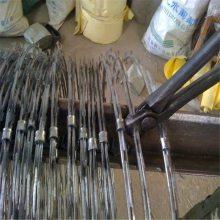 刀片刺绳围网价格 直线刀片刺绳 刺丝滚网