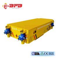河南***百定制5T可横纵移动蓄电池无轨GV搬运车 蓄电池电动平车