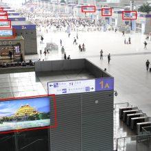 郑州东站三层广告媒体服务