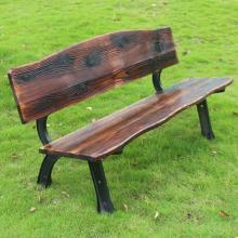 苏州购物广场休息椅塑木休闲椅实木公园长排椅子 (热销产品)
