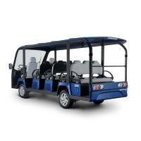 供应安步优品TSVGD14直流系统宝石蓝豪华14座电动观光车度假村摆渡电瓶车