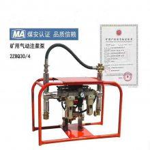 矿用气动注浆泵2ZBQ20/5双液注浆 注化学浆