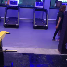 工厂直供360定制地板 健身房PVC塑胶地板厂 欧宝瑞定制地胶