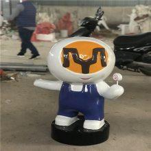 广州益丰玻璃钢卡通公仔雕塑批发
