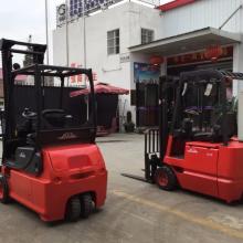 上海二手电瓶叉车市场 仓储专用电瓶叉车 2吨站驾式电动搬运车 电动仓储合力叉车