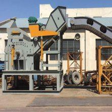 废铁回收处理金属破碎设备 油漆桶自行车金属破碎机 重型废钢破碎机生产线
