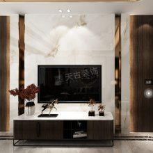 龙兴两江御园叠拼别墅设计,新中式风格装修效果图,渝北天古装饰