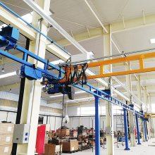 供应钢型kbk组合式起重机_电动运行kbk轨道式轻型行车_高博型起重机