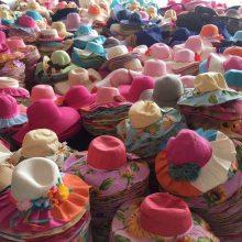 10元模式夏凉帽子遮阳帽 太阳帽 帽子女 沙滩帽 跑江湖地摊热卖