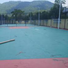 室外活动场地胶/室外防滑篮球场地板/欧宝瑞运动地胶厂家