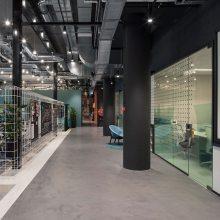 合肥办公室装修风格 活泼又严谨 活力满满的办公室装修