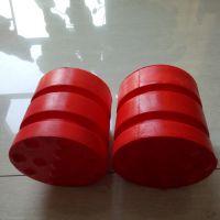 聚氨脂缓冲器JHQ-A型 螺纹行车缓冲块 行车货梯橡胶防撞器