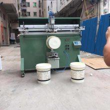 南昌市矿泉水桶丝印机 赣州纸板桶丝印机