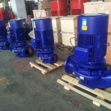 立式管道泵价格 ISG50-160B 1.5KW 浙江衢州 众度泵业 铸铁材质