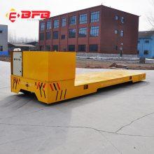 湖南75吨工厂摆渡车 电动升降平台运输车 抱轴式减速机车间运输设备
