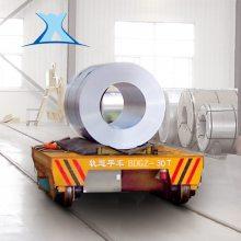 10T上海辽宁电缆卷筒轨道车 搬运输送玻璃低压轨过跨车可定制