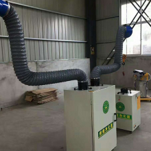锦鹏厂家可移动式电焊烟雾净化器 车间焊接烟雾净化器电焊旱烟除尘 焊烟净