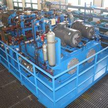 山东泰丰智能生产供应20MN液压成套系统
