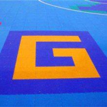 石家庄冀跃 幼儿园室外游乐场悬浮地板 小区防水防滑PP材质悬浮式拼装地板