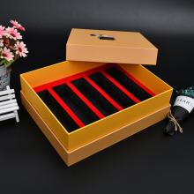 深圳保健品包装盒定制,烫金天地盖石斛礼盒定制,精装茶叶礼品盒定做