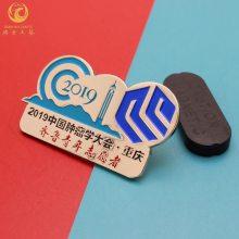 制作连锁店徽章,员工金属标牌,锌合金纪念标牌