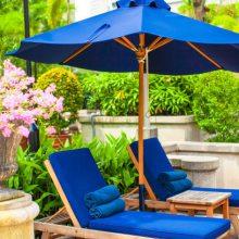 户外木制沙滩椅,泳池休闲躺椅,海边时尚沙滩椅