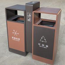 河南分类环卫垃圾桶厂家|山西户外果皮箱专业定制