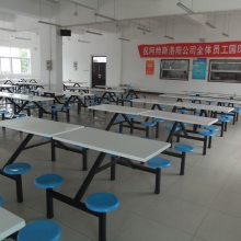 洛阳优特食堂餐桌椅厂家 不锈钢餐桌椅批发
