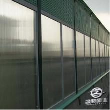 高架桥梁声屏障厂家 高速路两侧防噪音吸音板 公路低分贝隔音墙