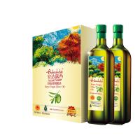 中粮福临门黄金产地玉米油 花生油 一级小磨香油安达露西亚进口橄榄油礼盒团 年终礼品