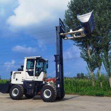 4吨越野叉车直销 5吨越野叉车直销 日力重工 三吨越野叉车性能