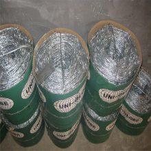 刺丝隔离网价格 铁蒺藜价格 镀锌刺丝多钱