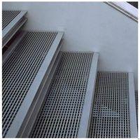 钢结构楼梯格栅 平台踏步格栅板 镀锌金属网格栅